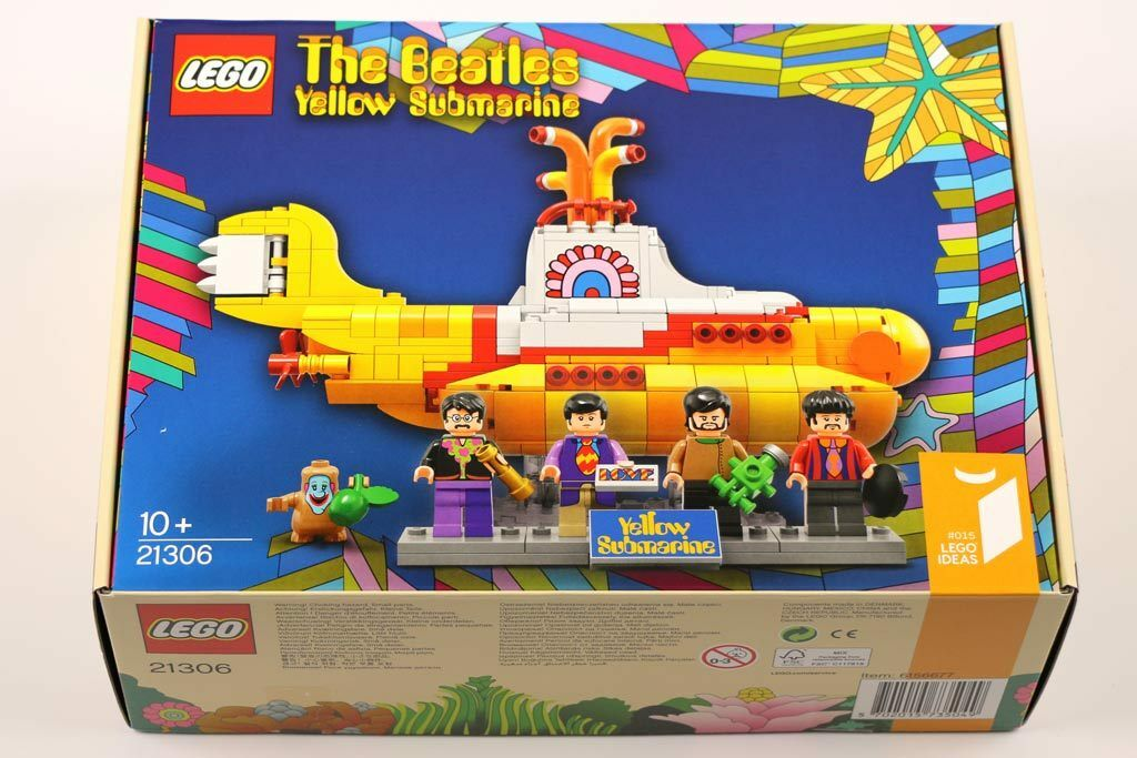 Lego 21306 The Beatles jaune Submarine