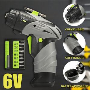 6V-Wireless-1-4-039-039-Akkuschrauber-Set-Mini-LED-Elektrowerkzeug-Kit-8pcs