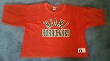 Vintage MIAMI HURRICANES Football Jersey Men's Large Logo 7 Shirt Practice Shirt