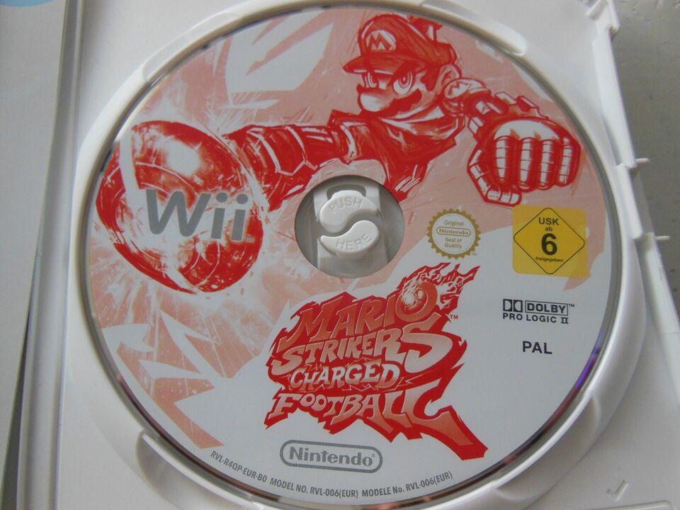 Mario Strikers Charged Football, Nintendo Wii