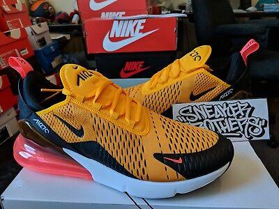 Nike Air Max 270 Tiger Black University Gold Yellow Hot Punch White AH8050 004 | eBay