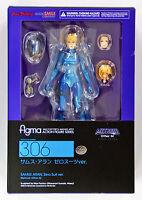 Metroid Other M Figma Action Figure Samus Aran Zero Suit Version Good Smile