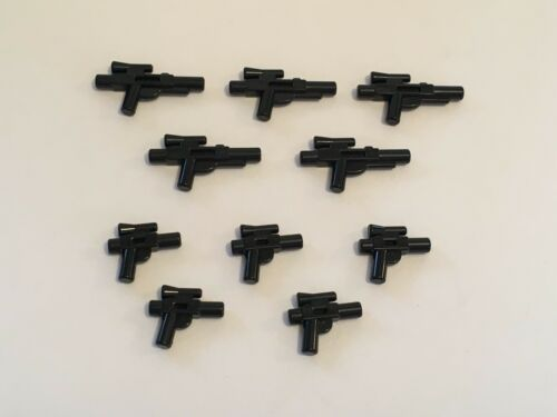 MEDIUM /& SMALL LEGO BLACK MINIFIG STAR WARS GUNS X 10 NEW
