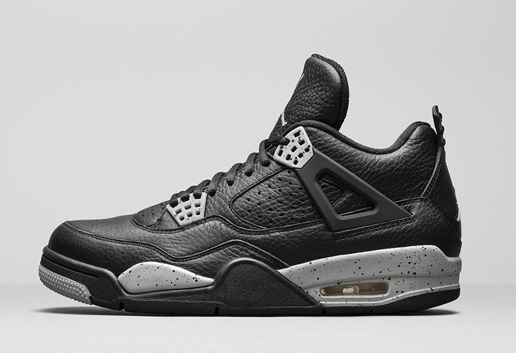 sale retailer 39659 fd2db Nike Air Jordan 4 IV Retro Oreo Tech Grey Size 11.5. 314254-003 1