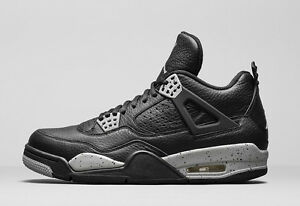 6a5773cdb038 Nike Air Jordan 4 IV Retro Oreo Tech Grey Size 13. 314254-003 1 2 3 ...