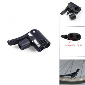 1x-amp-Bicycle-Pump-Parts-Adapter-Dual-Head-F-V-A-V-Schrader-Presta-Valve-Convertor