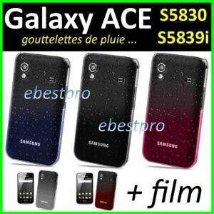Détails sur Coque Rigide Ultra Fin Gouttelettes Samsung Galaxy Grand Prime/VE Ace Core Trend