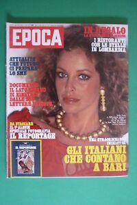 EPOCA-1485-1979-SYDNE-ROME-ALBERTO-SORDI-INCHIESTA-CITTA-039-DI-BARI-ILARIA-OCCHINI