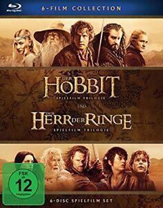 Mittelerde-Collection-Blu-ray-Box-NEU-Der-Hobbit-Der-Herr-der-Ringe-Box-6-Filme