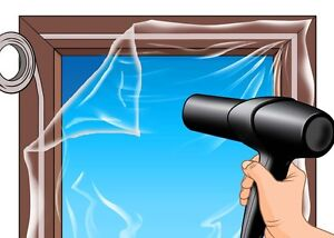 Window Glazing Film Secondary Window Insulation Kit