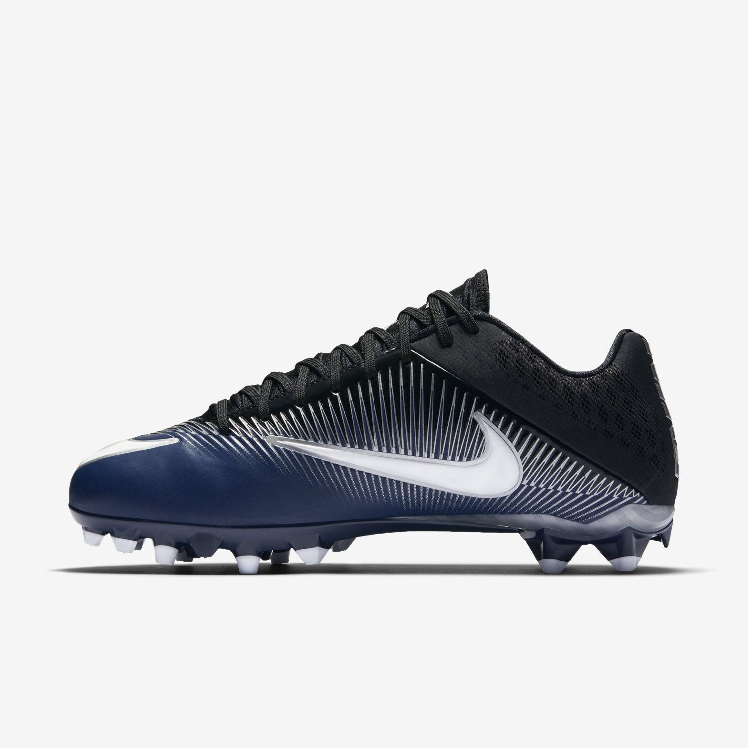 Nike Vapor Speed 2 TD Football Cleats 833380-402 Navy Silver White Size 14 NEW
