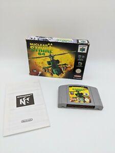 Nuclear Strike 64 Nintendo 64 N64 no Manual En Caja PAL Reino Unido