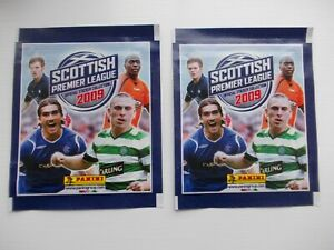 football-stickers-panini-Scottish-Premier-League-2009-packets-x-2-unopened