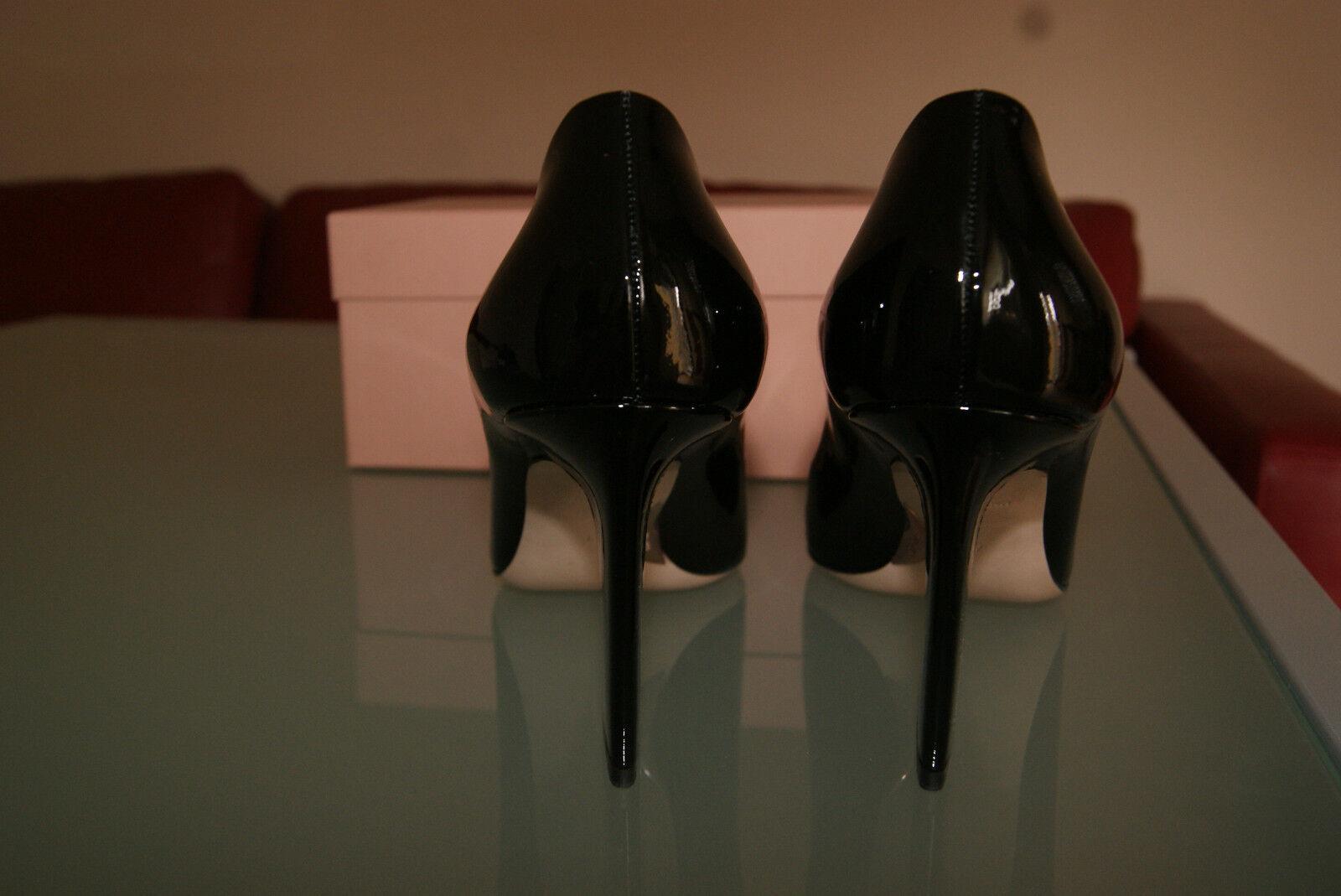 MIU MIU by PRADA Pumps Gr. 41 Damenschuhe Lackleder High NEU Heels schwarz NEU High f19704