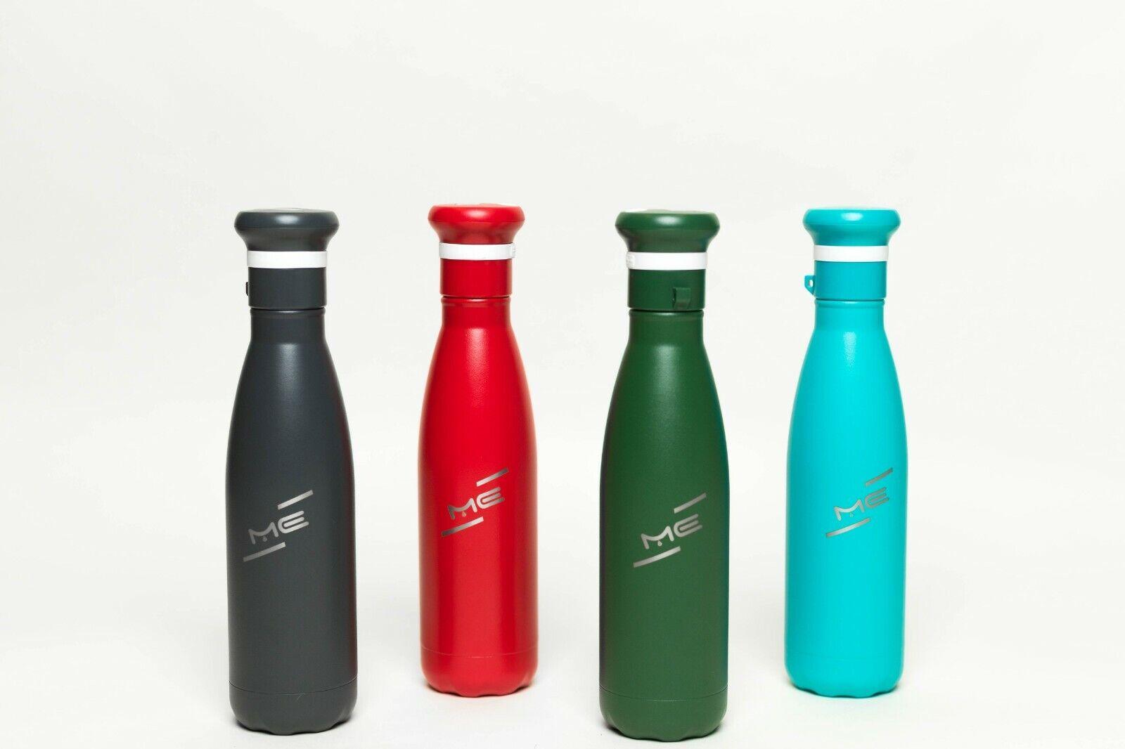 Me Water Bottle UVC LED Cap Water Filtration Sterilization w  Charcoal Filters