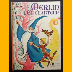 Collection-Vermeille-MERLIN-L-039-ENCHANTEUR-Walt-Disney-1976