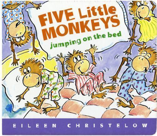 A Five Little Monkeys Story Ser.: Five Little Monkeys Jumpin