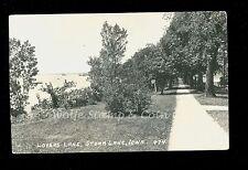 1943's RPPC Lovers Lane Storm Lake IA Iowa  Real Photo Postcard B2770