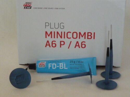 BL-FD Cement 25g Tip Top Minicombi i guasti-Set 4x a6 Pneumatici Riparazione /> 5111200 /<