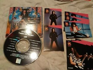 Steve-Vai-Passion-and-Warfare-CD-G3-proset-rock-cards-FREE-SHIPPING-usa-Canada