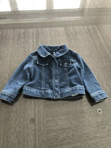 Baby Girl M/&S Denim Jacket 2 available Size 6-9 Months