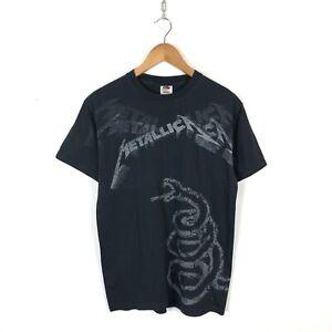 Metallica-1991-Album-T-Shirt-Taglia-M-Nero-Fruit-Of-The-Loom-2011