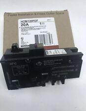 Square D Homeline 20 Amp Hom120pdf Plug On Neutral Dual Function Breaker