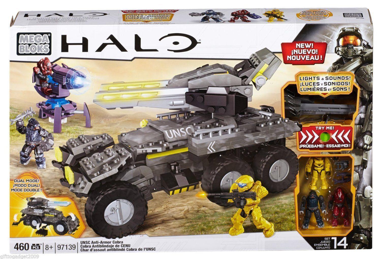 Joyeux Noël! Mega Bloks Halo UNSC UNSC UNSC anti-armor Cobra 97139 (460 pièces) Bnib efab8b