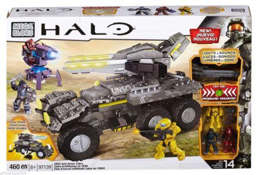 460 pièces Bnib Mega Bloks Halo UNSC anti-armor Cobra 97139