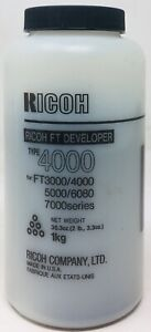 Complexé Ricoh 887133 Type 4000 Deveoper Originale Ricoh Ft3000/ft4000/ft5000/ft6080