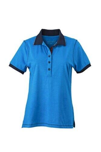 Damen Urban Poloshirt Polo Shirt Slub Qualität