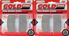 GOLDFREN FRONT BRAKE PADS (2x Sets) for: HONDA CBR 600 RR3 RR4 2003 2004 CBR600
