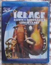 Blu-ray 3D - Ice Age Dawn of the Dinosaurs (Brand new -Panasonic Exclusive)