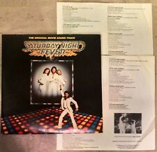 EX+ Saturday Night Fever 1977 Soundtrack 2 VINYL LP ALBUM Gatefold RSO RS-2-4001