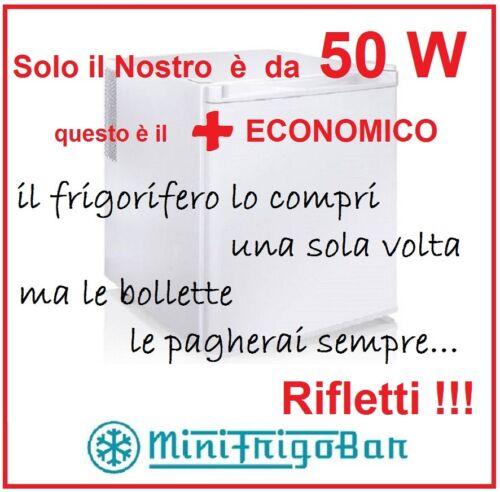 Frigorifero Mini Frigo Bar Monoporta Portatile Piccolo Bianco 45 Litri Ufficio