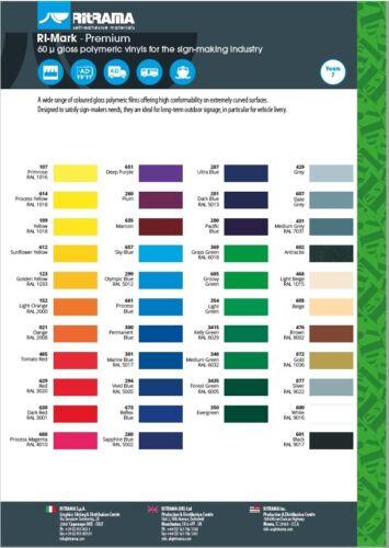 Farbkarte RITRAMA RI-Mark Premium