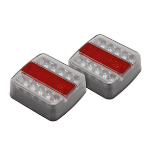 TB18LED Sealey Lighting Cluster Rear Square LED 12V [Towing Accessories]
