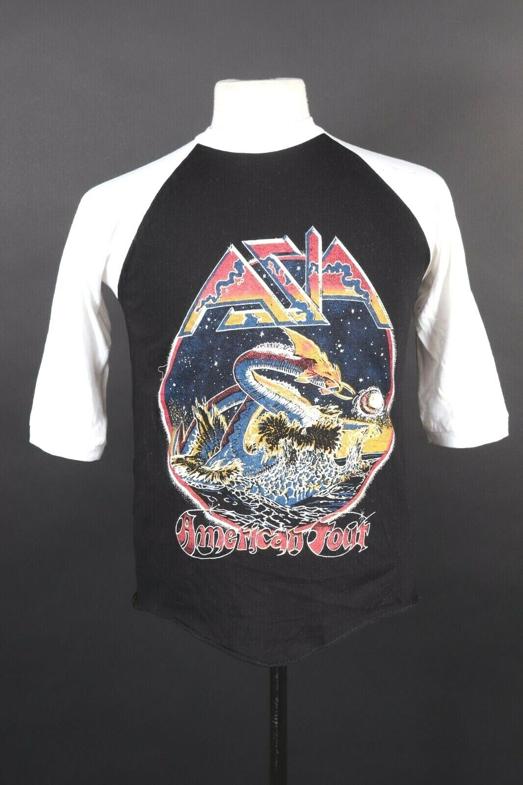 Vintage Sleep band Music Tour Concert Men Black Tee Cotton T-Shirt AV677