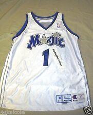 Authentic Tracy McGrady Orlando Magic Champion Pro Cut Jersey 99-2000 Size 52