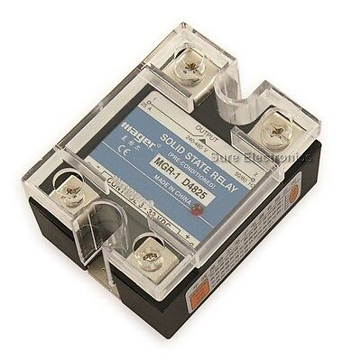 90-480VAC/25A Output 3-32VDC Input Solid State Relay