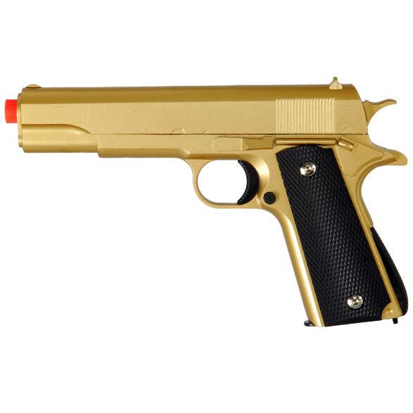 Uk Arms G13g Spring Powered Airsoft Handgun Zinc Alloy Pistol 270 Fps Golden For Sale Online Ebay