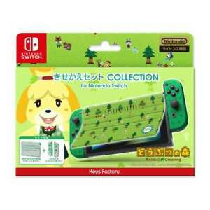 Preventa-Nintendo-Switch-Animal-Crossing-portada-Joy-con-conjunto-de-funda-de-silicona-B