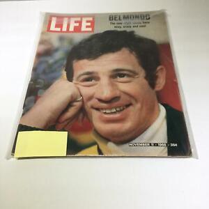 Life-Magazine-11-11-66-Jean-Paul-Belmondo-New-Style-Movie-Hero-Sexy-Crazy-amp-Cool