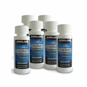 Kirkland Signature Minoxidil 5% Extra Strength Men 6 Month Supply Hair regrowth