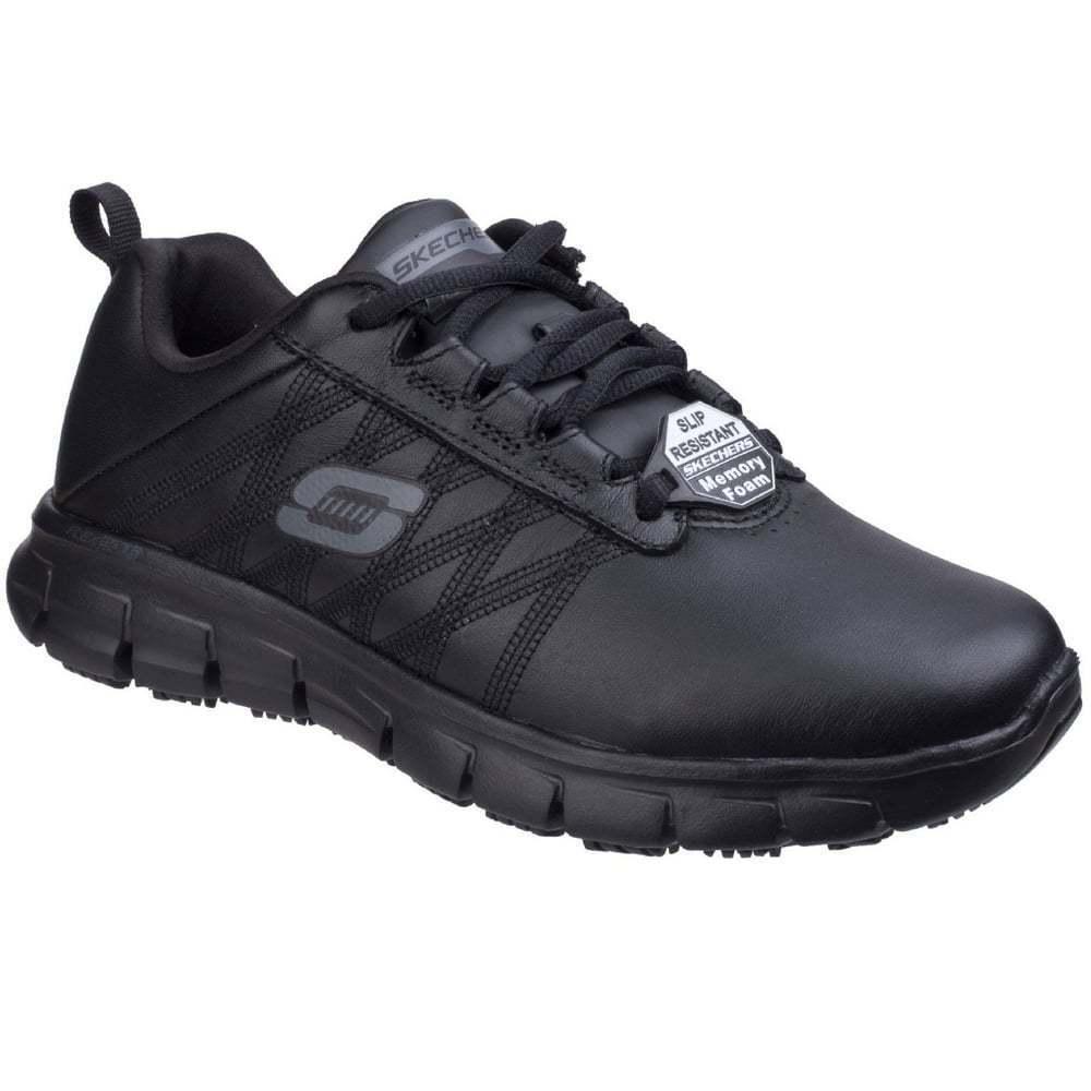 Skechers Sure Track Erath Womens Slip Resistant Work shoes