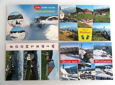 4x Reit Im Winkl Winkelmoos-alm Lot Ansichtskarten Ungelaufen Ak Ab/nach ~1970 Nachfrage üBer Dem Angebot