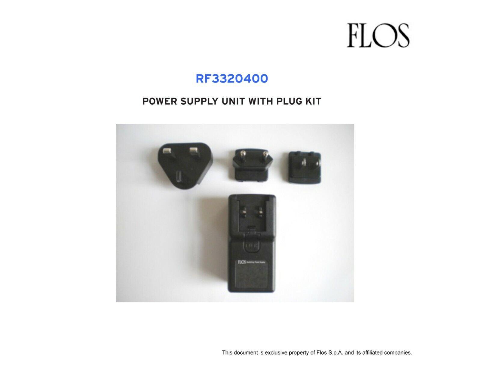 FLOS ARCO LED - RF3320400 - POWER SUPPLY UNIT WITH PLUG KIT - BRAND NEW