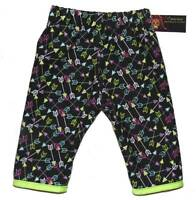 Arrow Black Neon Concious Children's Girl Boy Baby Toddler Pants Cotton Clothes