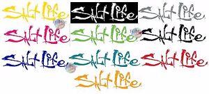 New-Salt-Life-Signature-UV-Rated-Weatherproof-Decal-Sticker