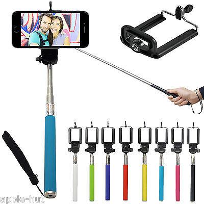 Monopod Selfie Stick Telescopic Go Pro Fits iPhone, Samsung Galaxy, Sony, Nokia